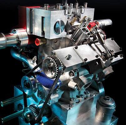 современный двигатель