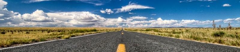 панорама дороги