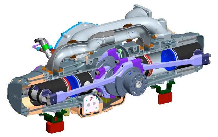 двигатель орос