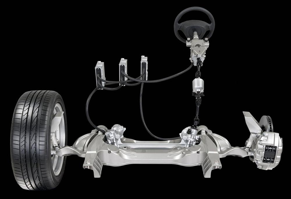 система адаптивного рулевого управления