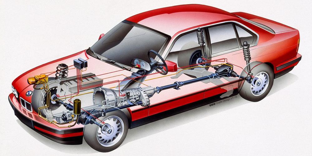 BMW-Е34-525iX