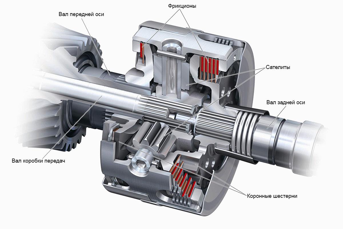 собственный дифференциал Audi