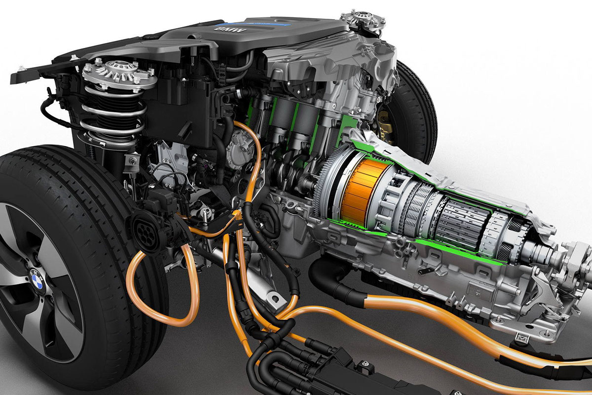 устройство силового агрегата авто с параллельной схемой