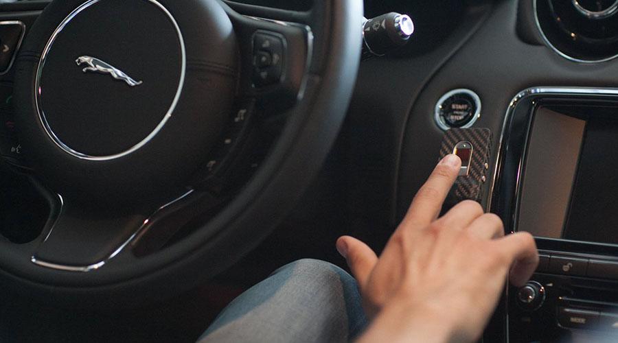 биометрическая защита авто