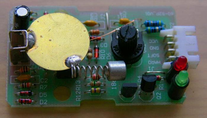 устройство датчика удара