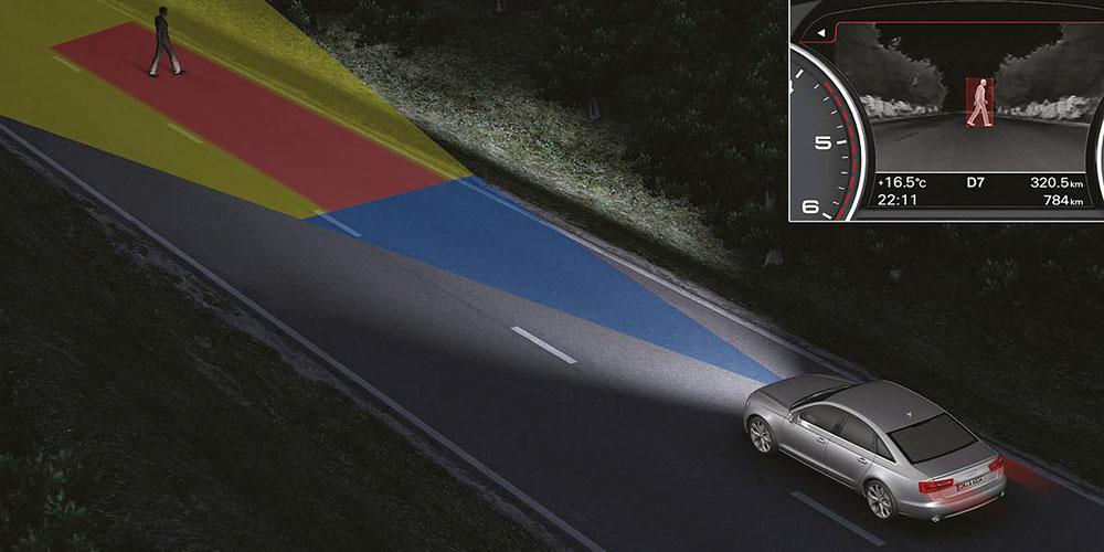 система ночного видения автомобиля